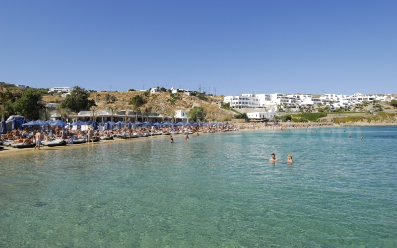 Psarou Beach - _MYK0001 - Mykonos, Greece