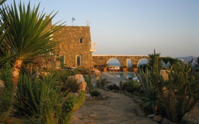 The Stone Villa - SunriseGardens.jpg - Mykonos, Greece